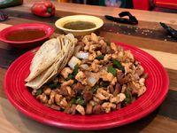 Tacos de Alambre de Pollo y Chorizo x2 Personas