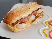 Sándwich  gourmet de pollo King