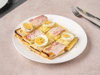 Gran sándwich caliente Cervantes
