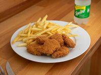 Combo 6 - 8 Nuggets + Fritas + Refresco Mini