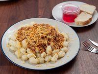 Menú del día - Pasta con salsa a elección
