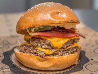 Burger doble hit