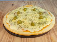 Pizza muzzarella (8 porciones)