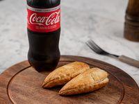 Promo - 2 empanada + 1 refresco