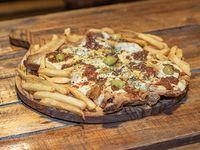 Milanesa a la pizza muzzarella