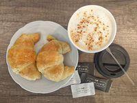 Promo - Café con leche + 2 medialunas de grasa o manteca