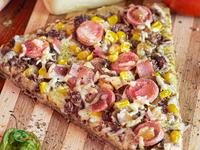 Pizza Ranchera en Porción