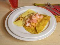 Choclo - Crepes Camarones