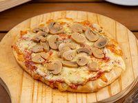 Pizzeta con champiñones