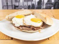 Sándwich de churrasco chemilico