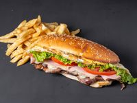 Sándwich de lomo especial en pande lomo