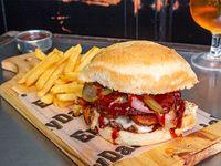 American Pork Burger