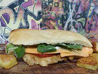 Promo - Lomo Cheddar de pollo + El Ahumado lomo + papas al horno