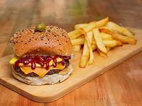 Burger clásica gourmet