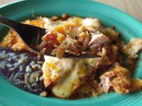 Enchiladas Rojas de Puerco