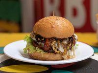 Hamburguesa de Cerdo con Tocineta