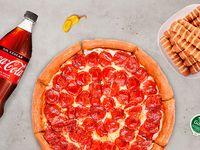 Combo mediano - Pizza mediana + appetizer simple + bebida 1.5 L