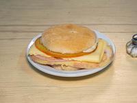 Sándwich triple común