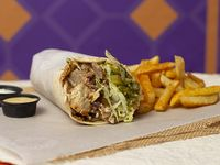 Shawarma de Mixto en Combo
