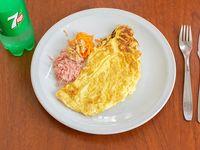 Menú 2 - Omelette + bebida 500 ml a elección