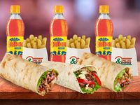 Combo Burrito Para 3