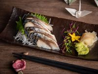 Sashimi shimesaba (4 unidades)