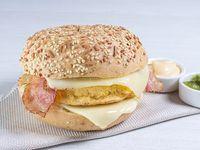 Sándwich Tortilla de Huevo