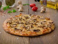 Pizza Pollo con Champignones