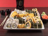Combo 14 - 60 piezas de sushi a elección + bebida 1.5 L