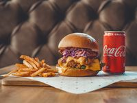 Combo Kansas Buffalo Chicken Burger