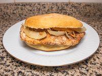 Sándwich de churrasquito de Seytan
