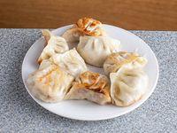 2 - Ravioles chinos a la plancha (8 unidades)