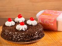 Torta Genovesa Mediana  + 1 Litro de Helado