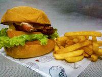 Chori-Burger + Papas Francesa