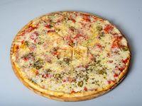 Pizza con muzzarella
