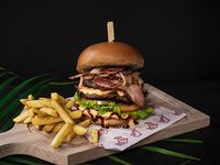 Delichef burger doble carne