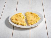 Mbeju relleno con queso