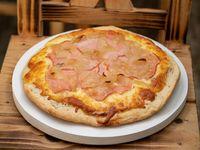 Pizza ahumada