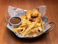 Pincho de pollo crispy