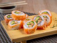 Katsu sake roll (10 piezas)