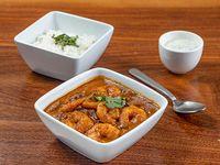 El Curry - Tikka Masala de Camarones