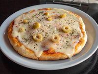 Pizza individual mozzarella