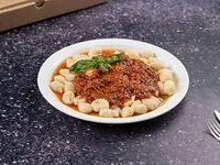 Ñoquis con salsa