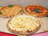 Promo 3 pizzas - Pizza snow (30 cm) + pizza margarita (30 cm) + pizza marinara (30 cm)