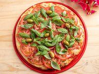 Pizza capresse grande 300grs de muzzarella