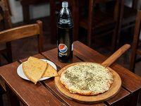Promo - Pizzeta con muzzarella + 2 fainá + bebida 1.25 L