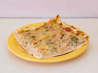 Tarta de panceta (porción)