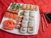 Combinado de salmón (40 piezas)