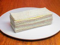 3 sándwiches de Paleta y Queso
