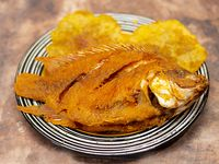 Pescado Frito Tilapia